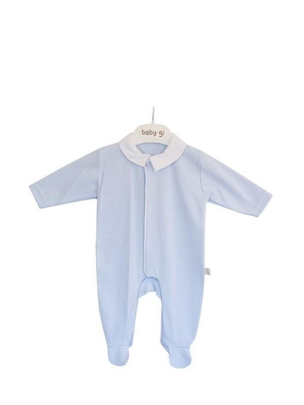 Baby Gi Baby Gi Velour Angel Babygrow