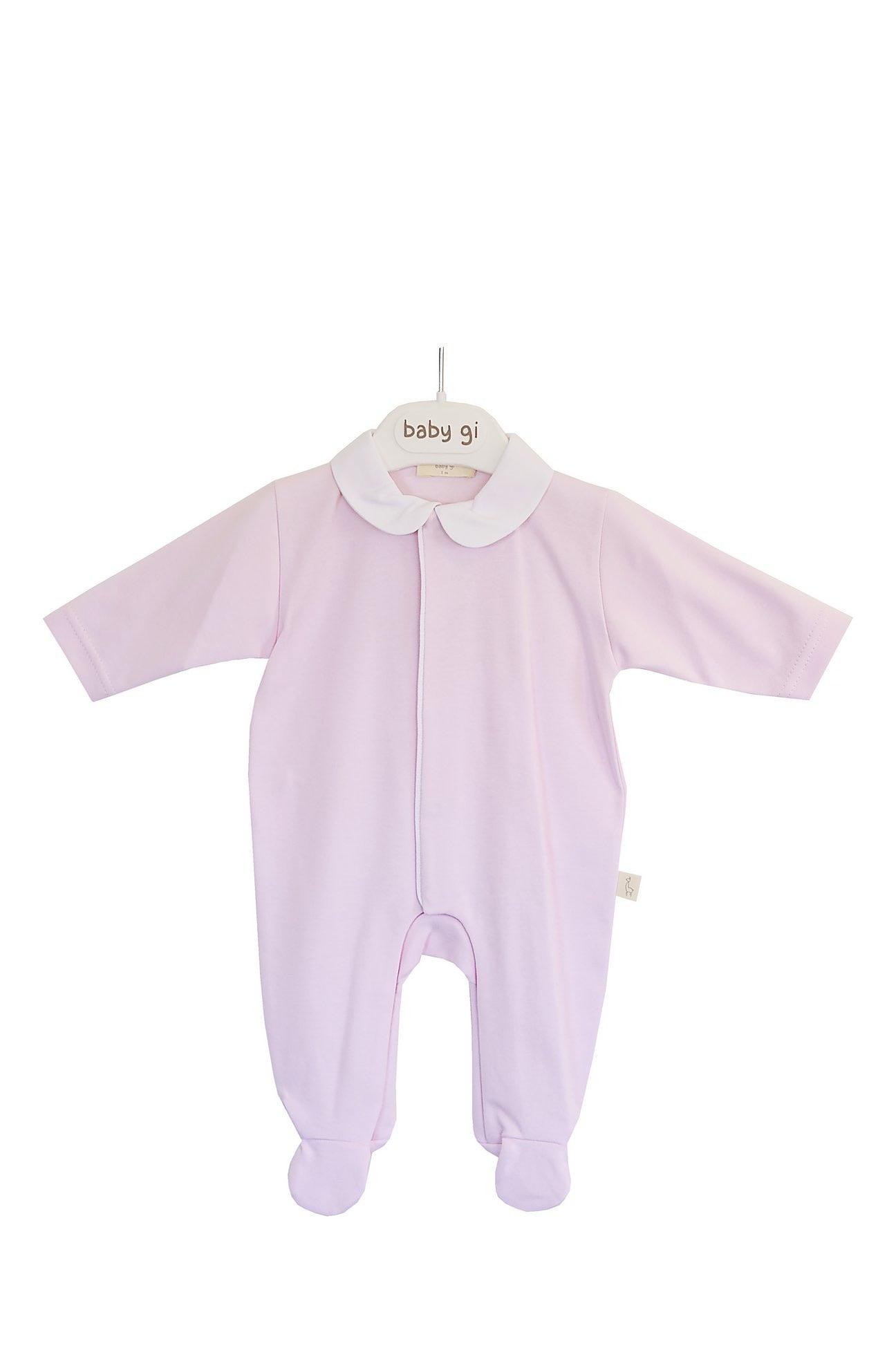 Baby Gi Baby gi Pink Angel Wings Babygrow