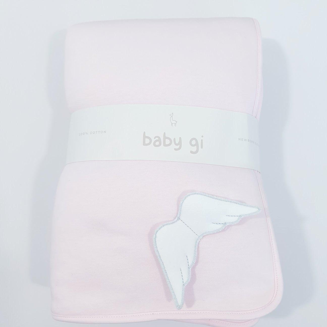Baby gi Angel Wings Pink Blanket