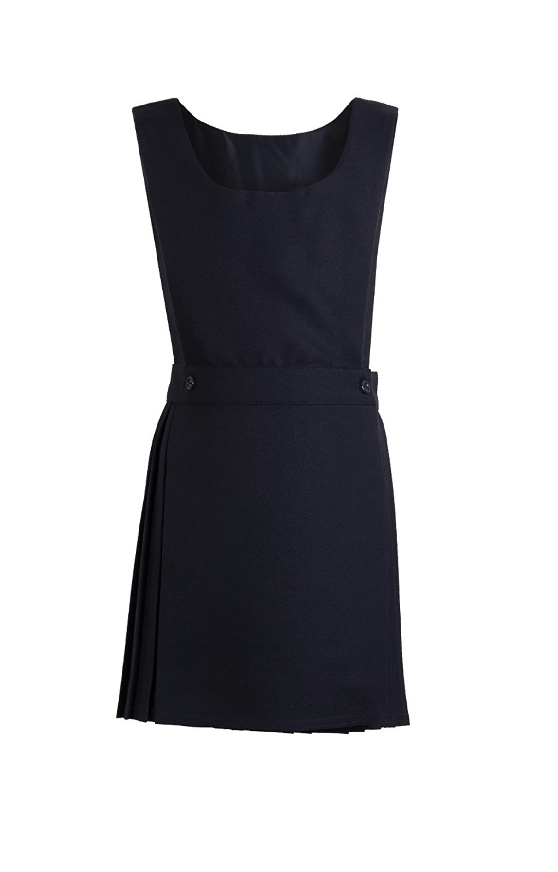 Pex Pinafore Pex Black Kilt Style Pinafore