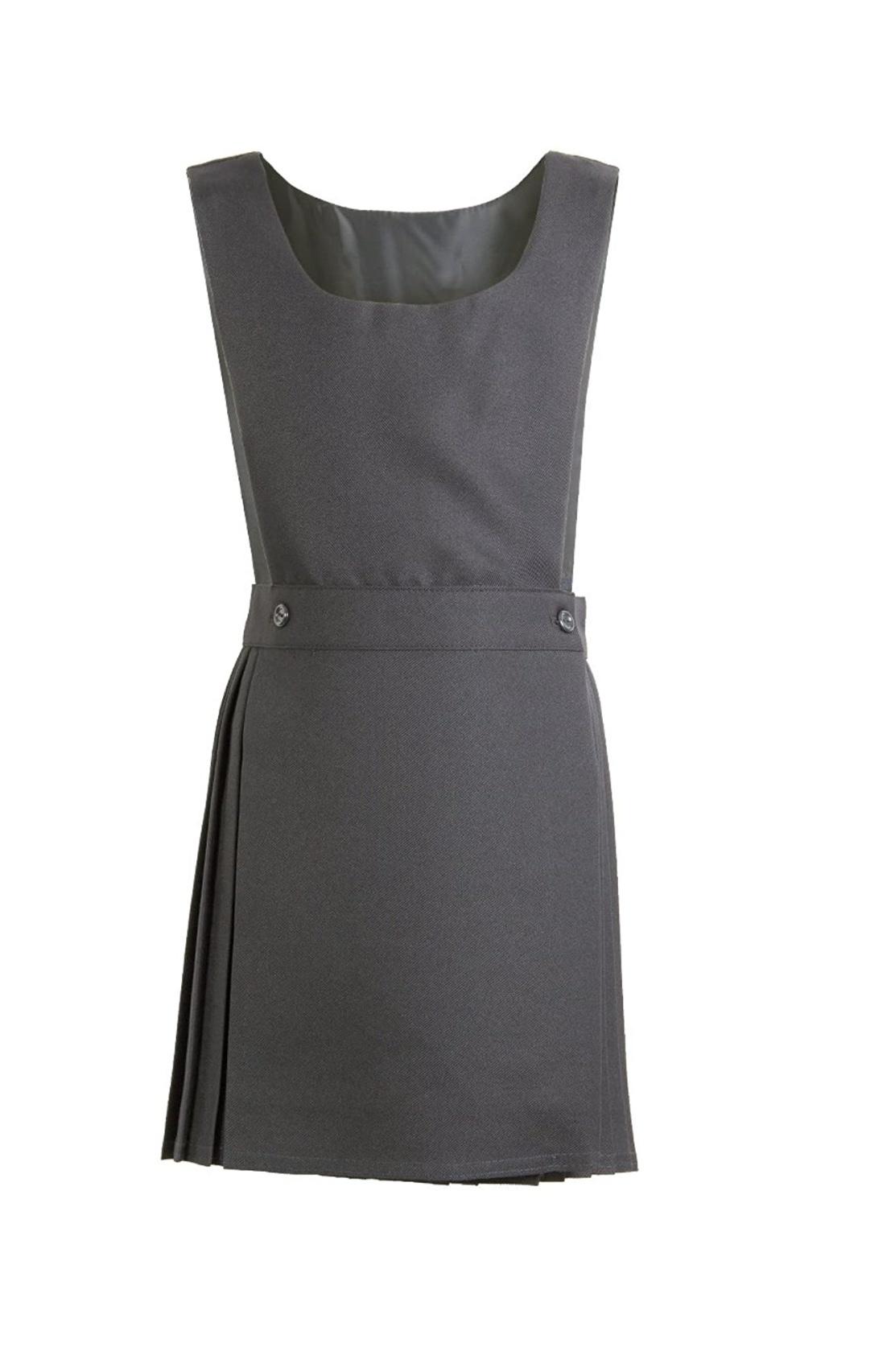 Pex Pinafore Pex Grey Kilt style Pinafore