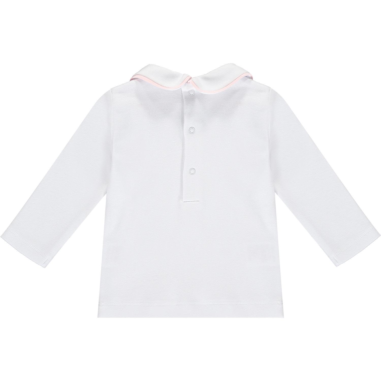 ADee Baby Little A Irina White A Collar Top