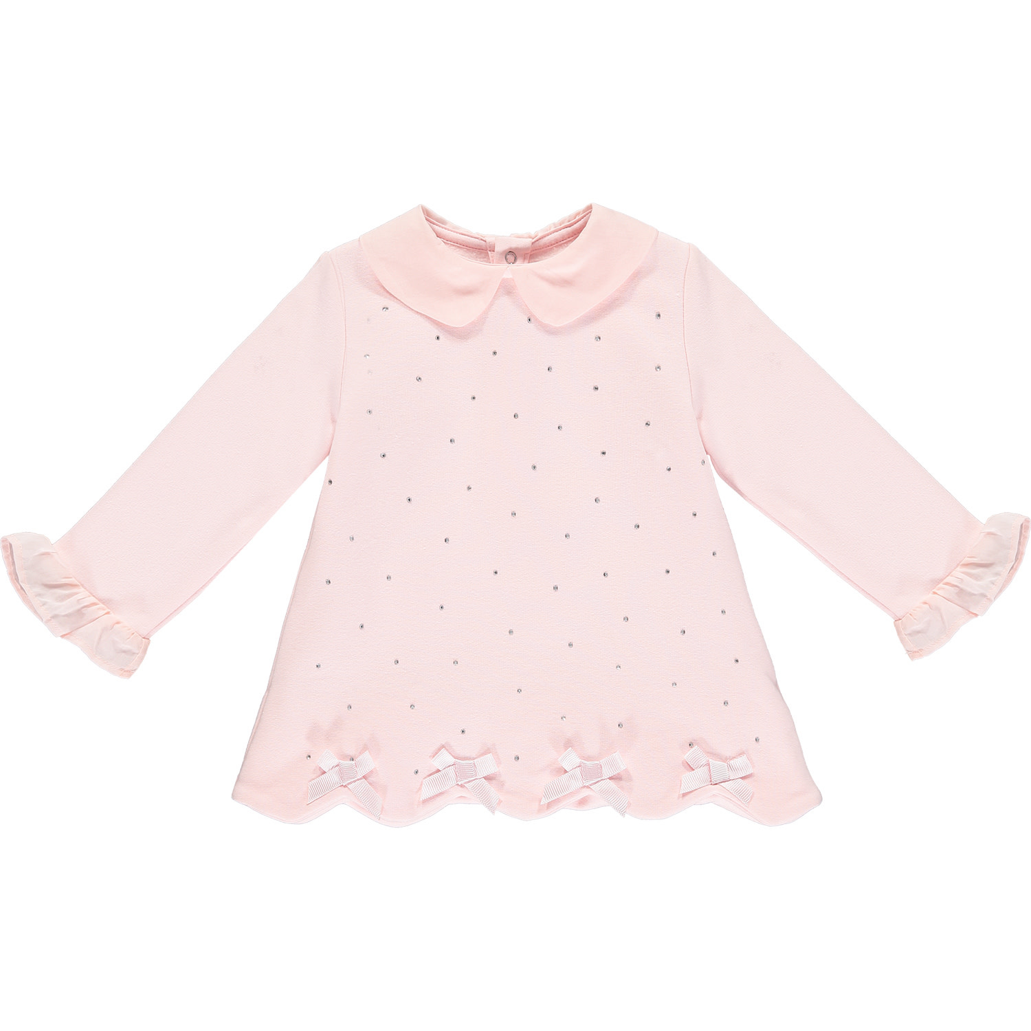 ADee Baby Little A Iona Pink Sparkle Dress