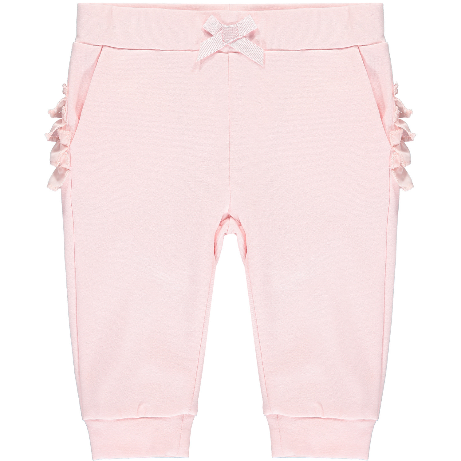 ADee Baby Little A Isobel Pink Swan Tracksuit