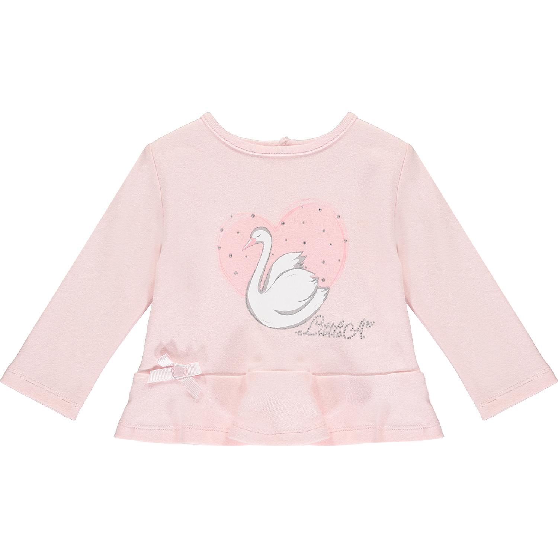 ADee Baby Little A Imogen Pink swan Legging Set
