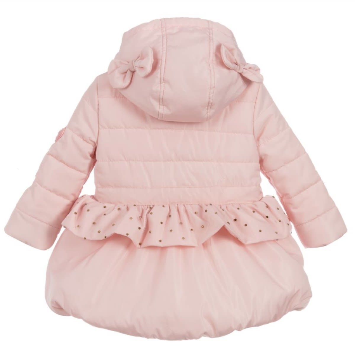 Lechic LeChic C007-7213 Pink Coat with Bow & Net