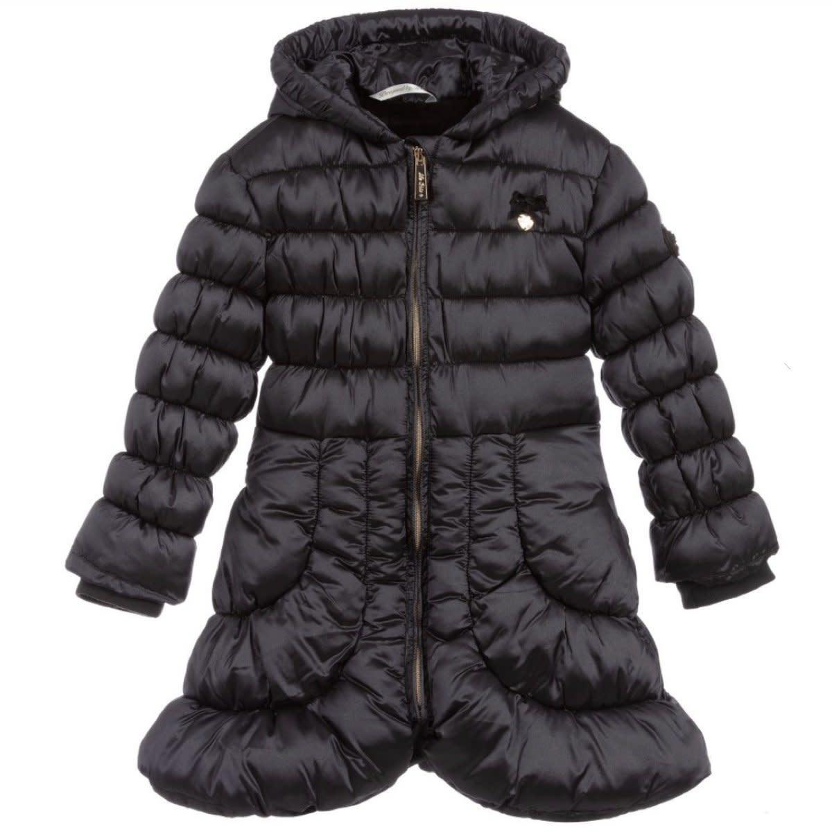 Lechic LeChic C007-5219 Grey Iron Winter Coat