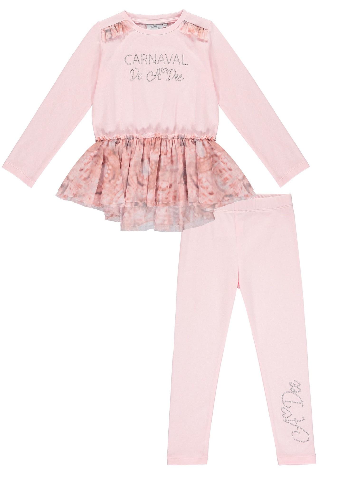 A Dee ADee Fredy Pale Pink Carnival Legging Set