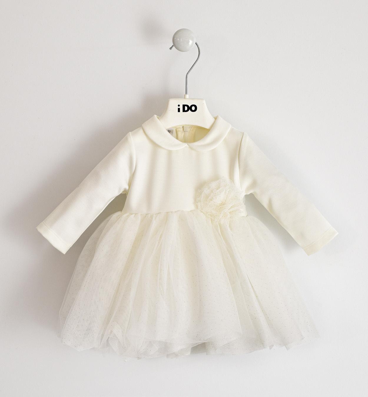 Ido Ido 1251 Winter White Sparkle Dress