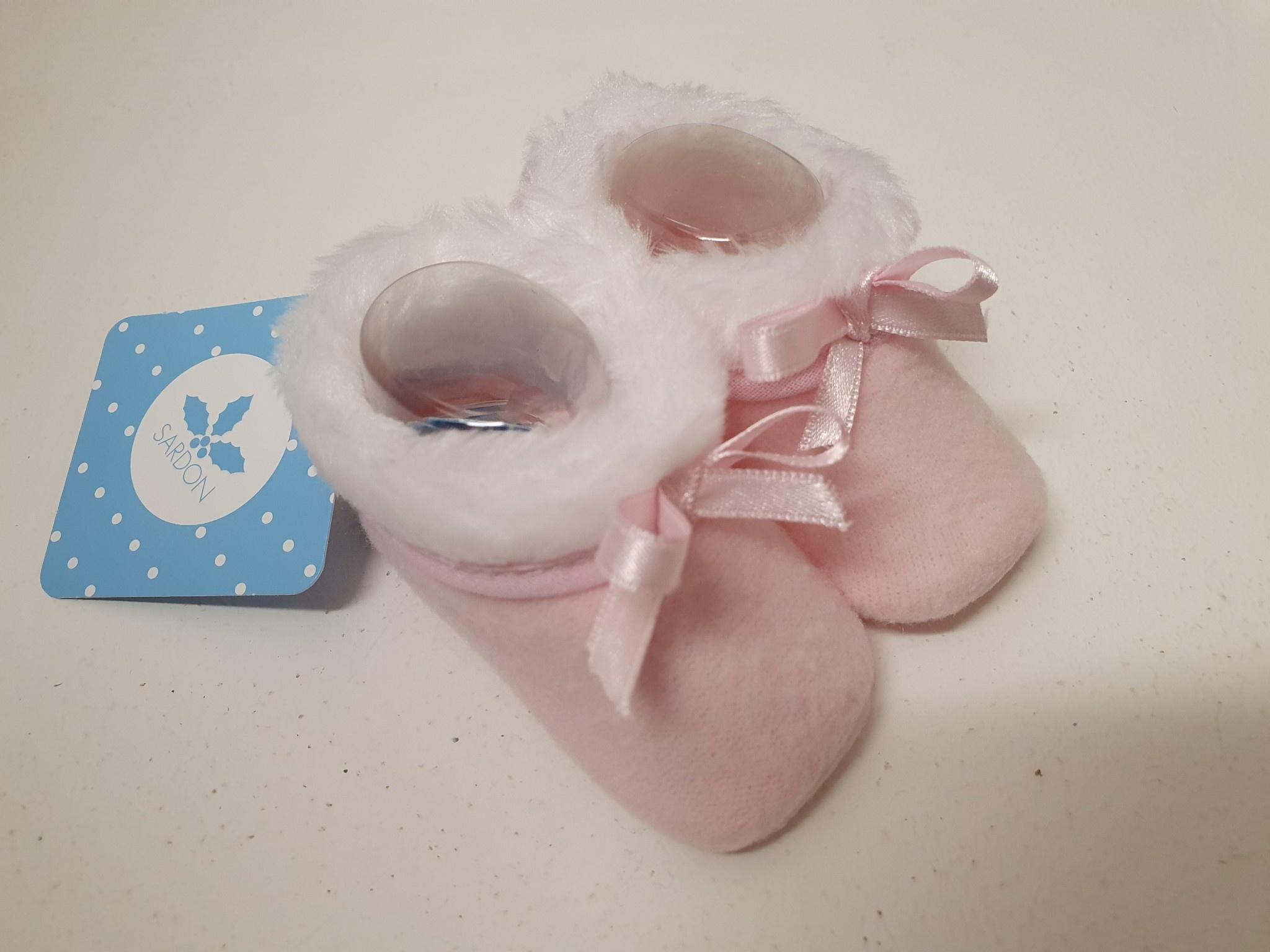 Sardon Sardon Pink Soft Bow Slipper 708
