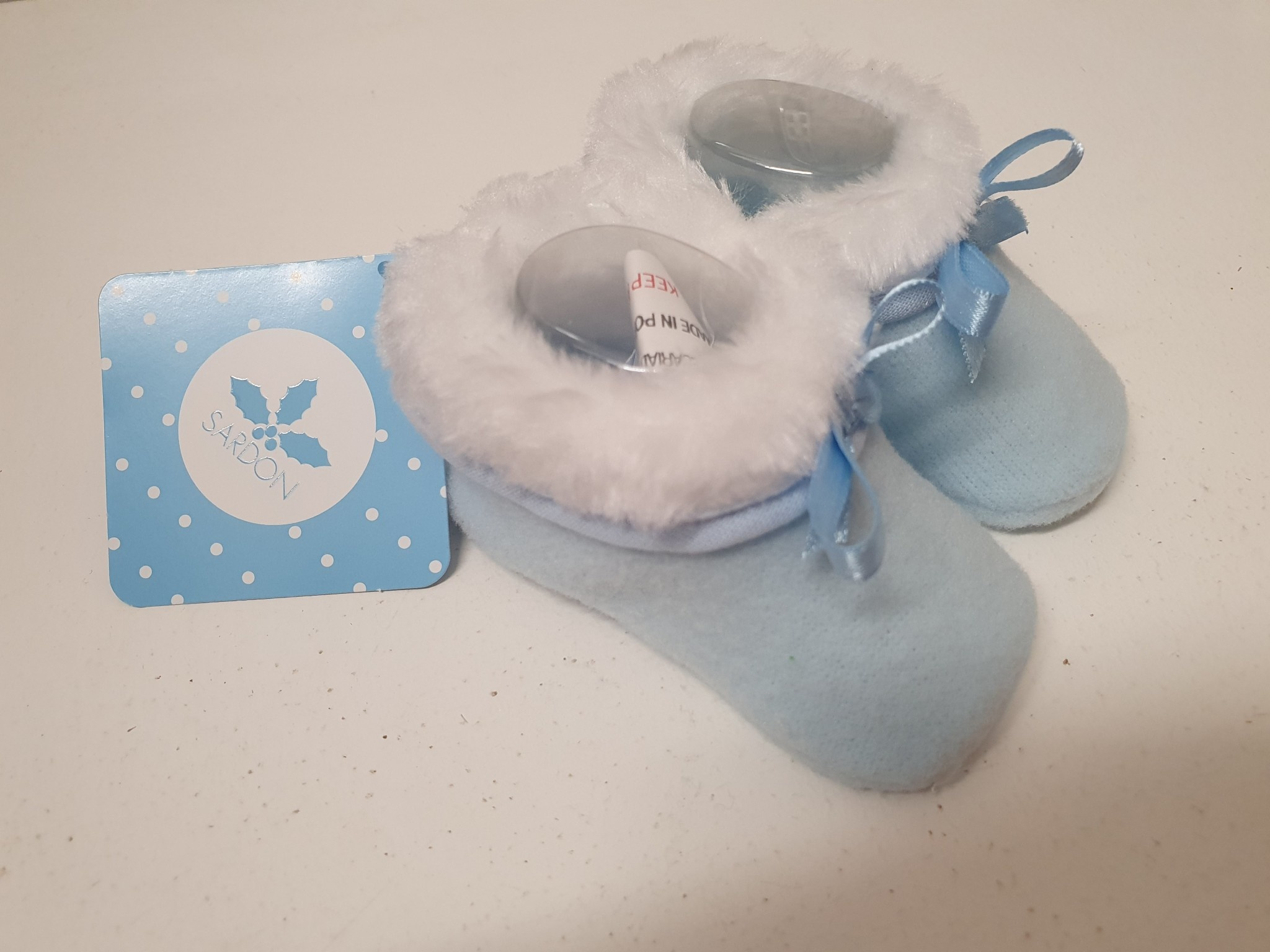 Sardon Sardon Blue Soft Slipper