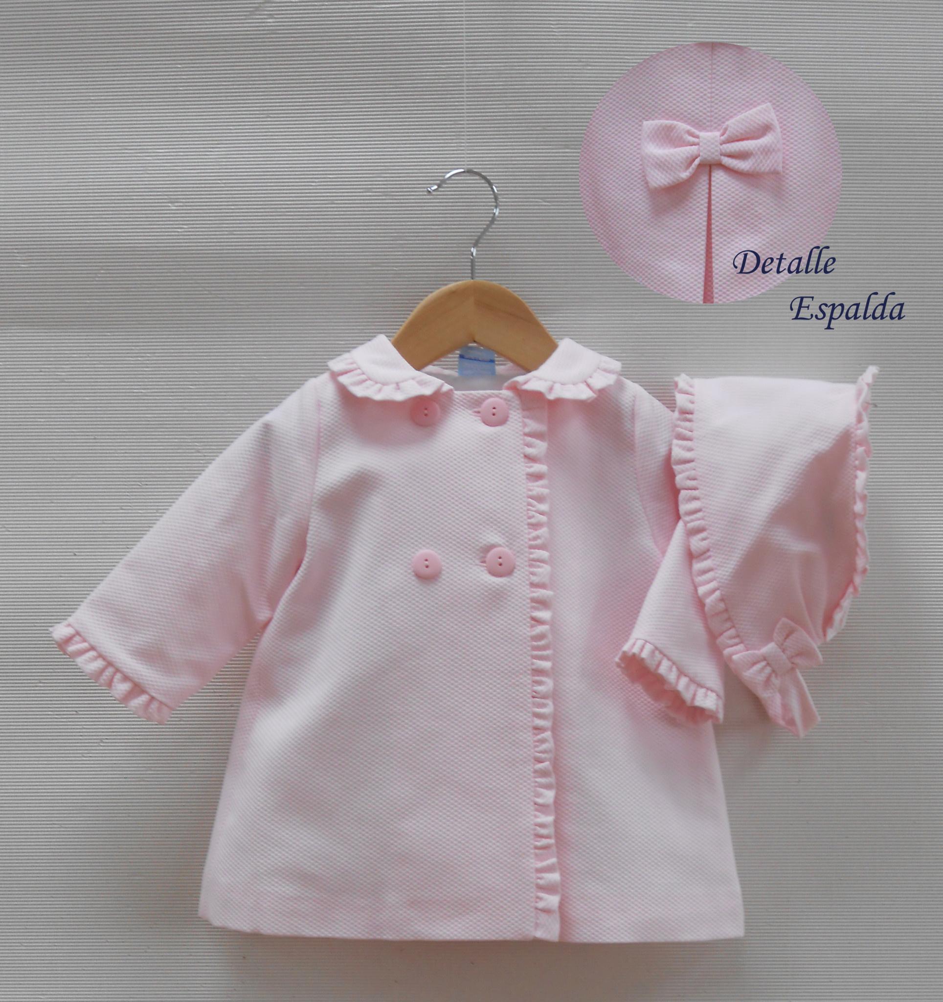 Sardon Sardon 020AB-11 Pink Quited Winter Coat & Hat
