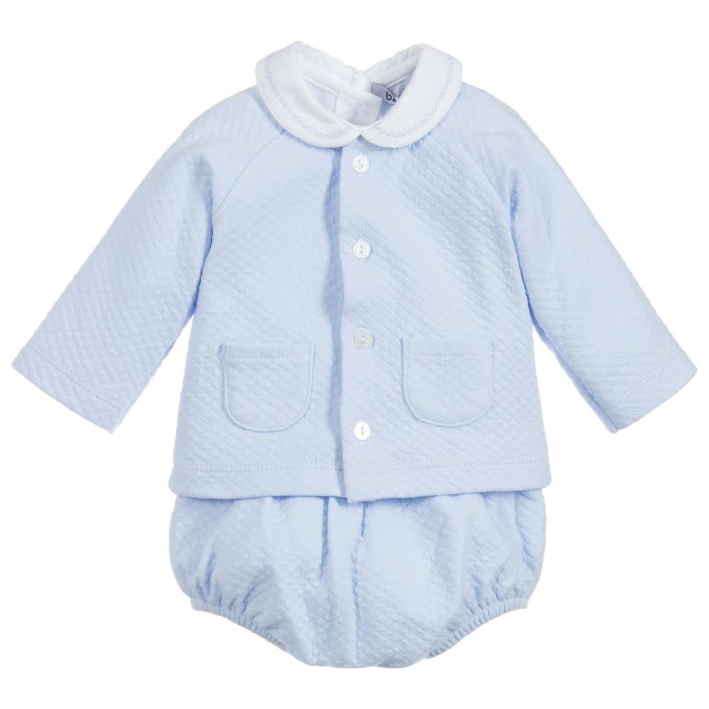 Babidu Babidu 47190 Three Piece Blue Outfit