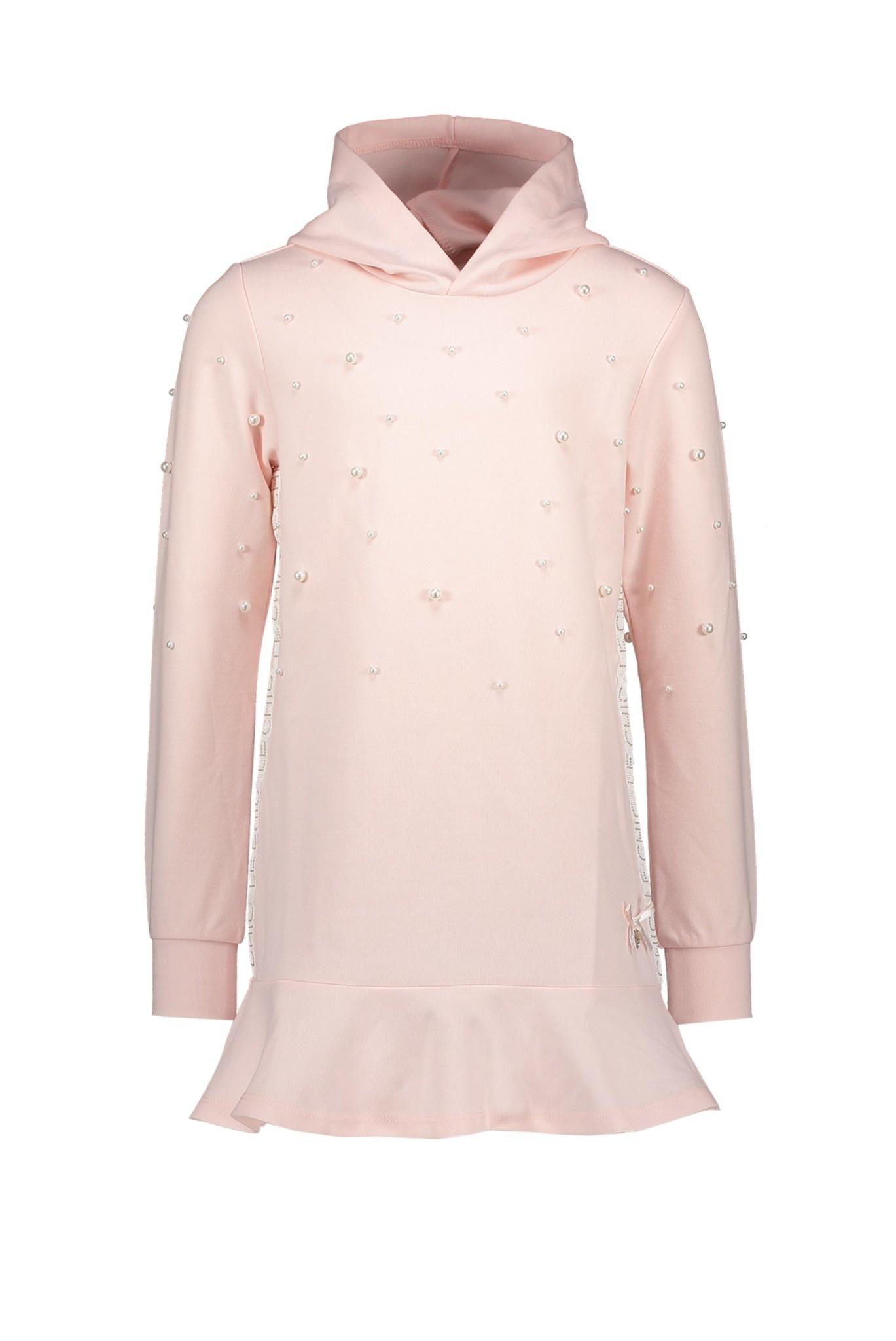 Lechic Le Chic Dress Hoodie & Peplum pearls