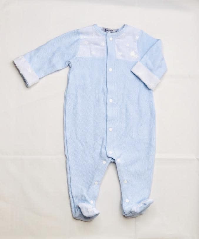 Babidu Babidu 13330 Blue Stars Babygrow