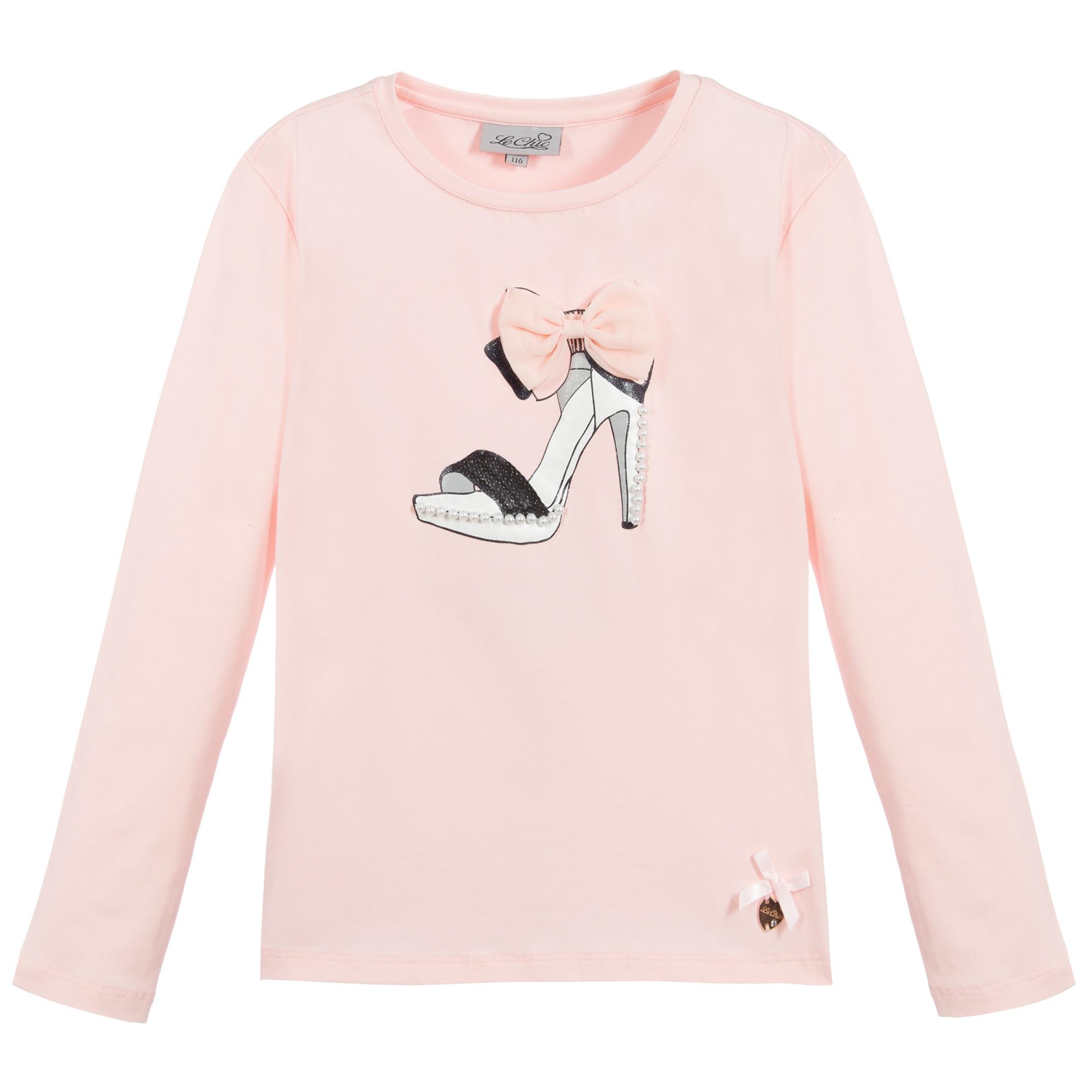 Lechic Lechic Pink 'Chic Boutique Shoe' T-Shirt