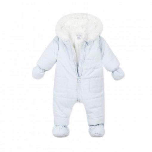 Absorba Absorba A/W20 Pale Blue Snowsuit - 1 Month