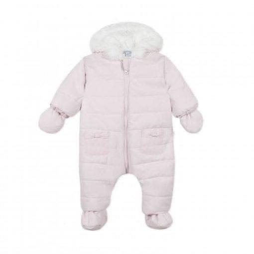 Absorba Absorba A/W20 Pale Pink Snowsuit