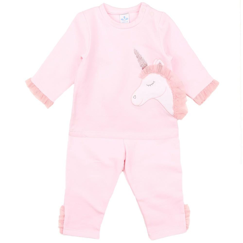 Sardon Sardon Pink Unicorn Tracksuit