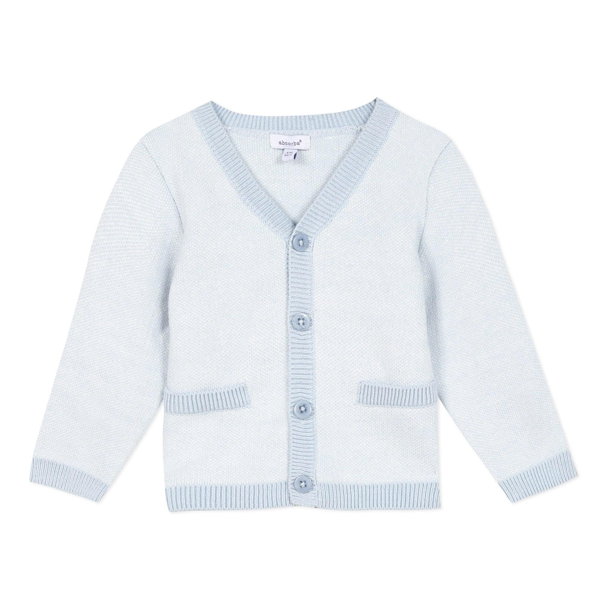 Absorba Absorba Pale Blue Knit Cardigan