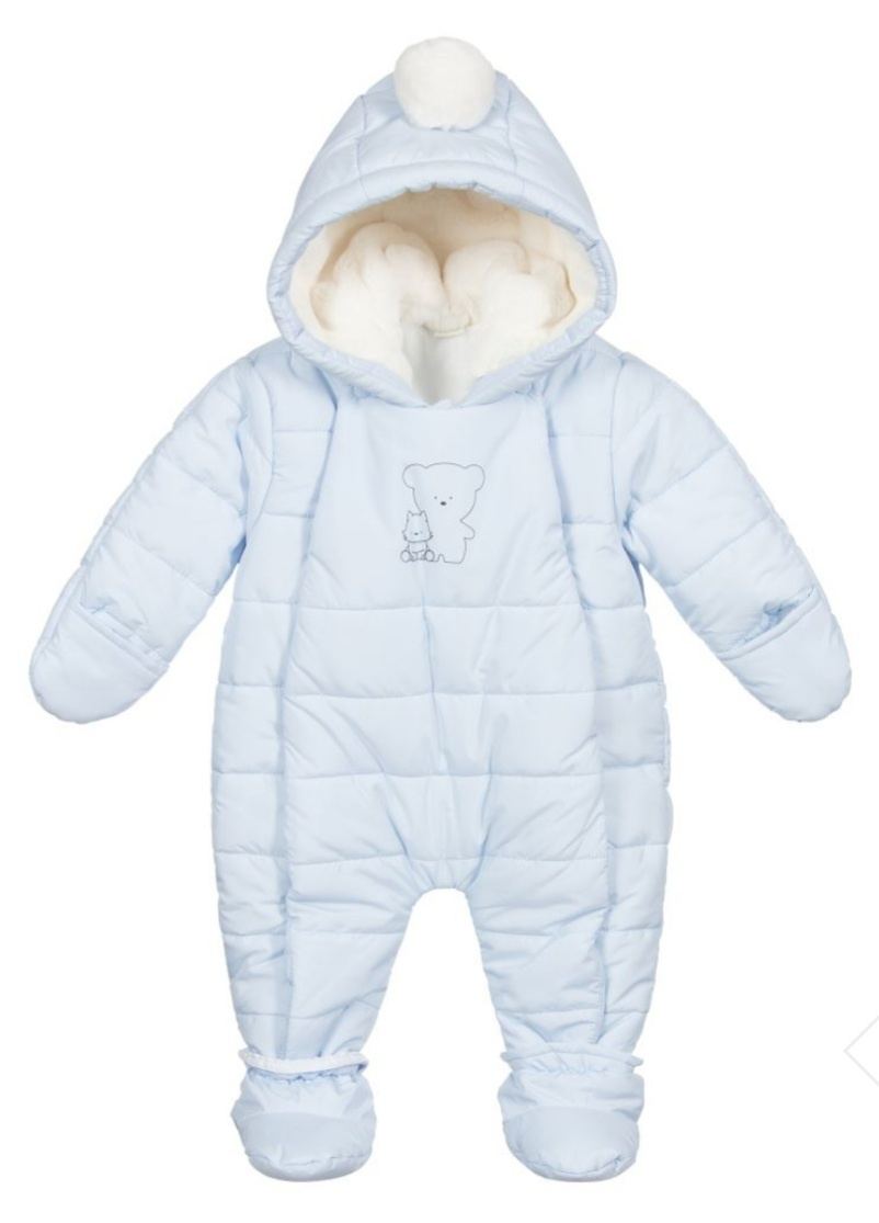 IDO Padded Blue Thermal Snowsuit 4.1292.00