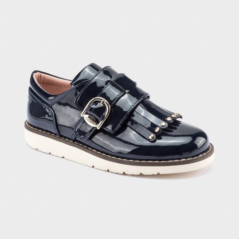 mayoral Mayoral Girls Navy Fringe Shoe