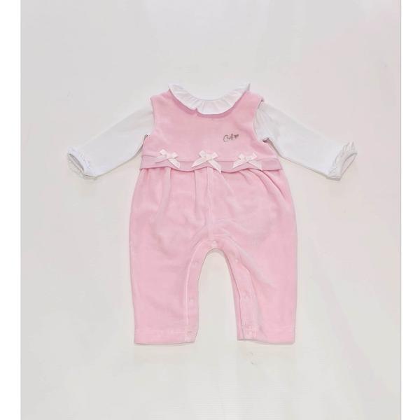 ADee Baby Little A Ida Pink Dungaree Set