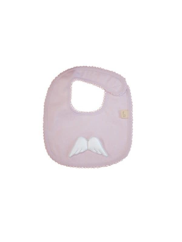 Baby Gi Pink Angel Wing Bib