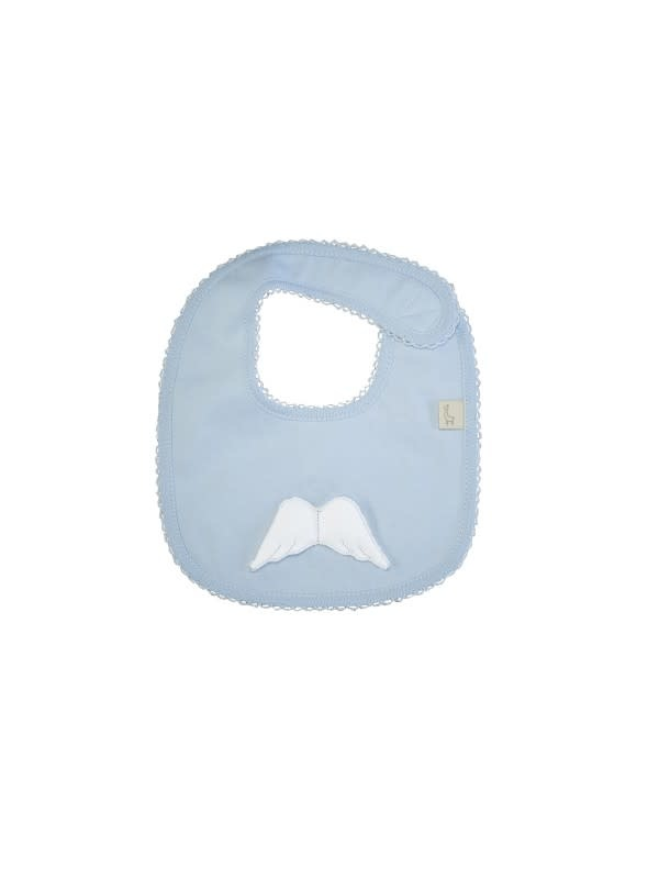 Baby Gi Baby Gi Blue Angel Wings Bib