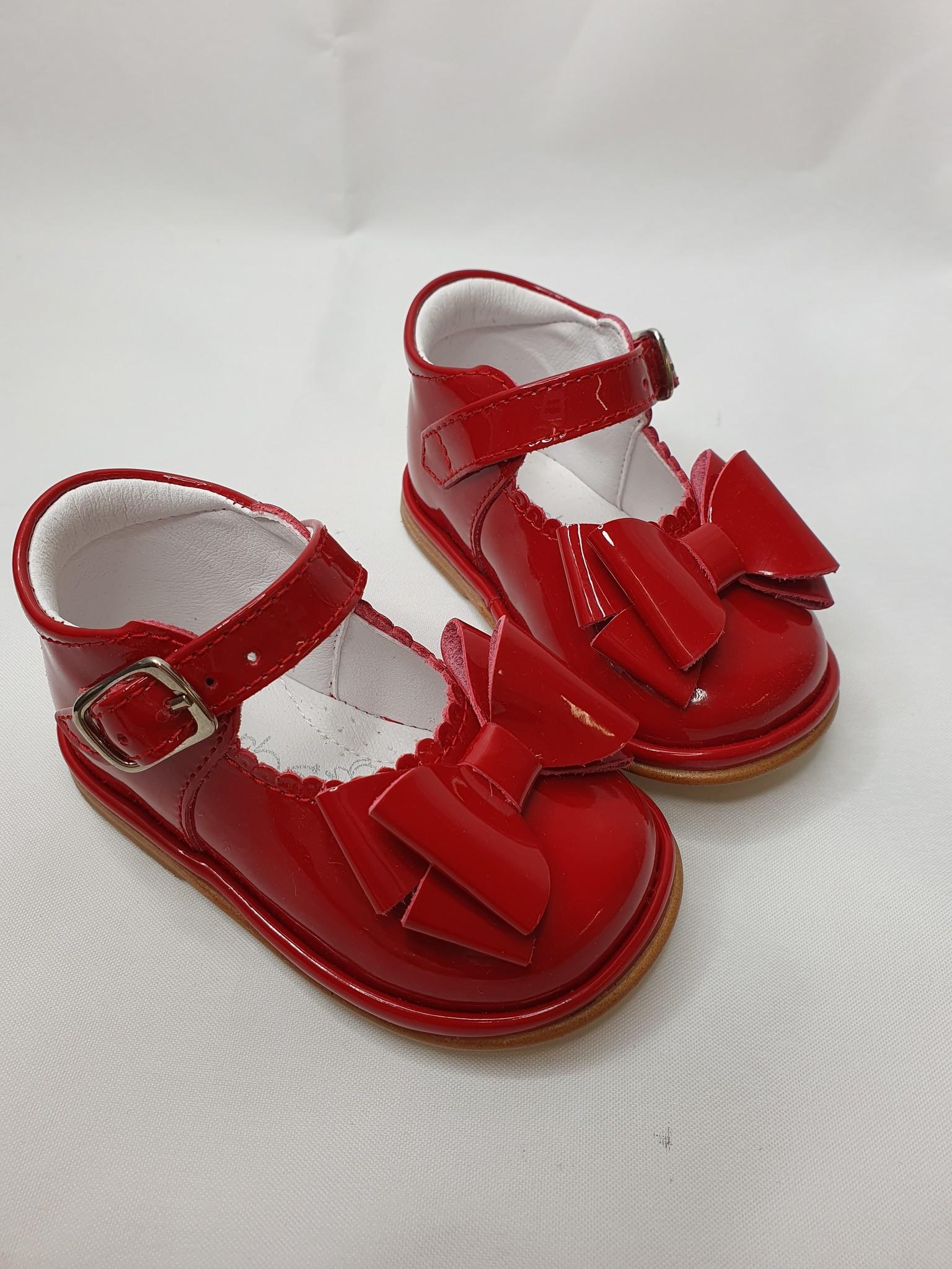 Borboleta Borboleta Catia Red Patent Shoe