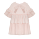Patachou Patachou Girls Pink Chiffon Dress