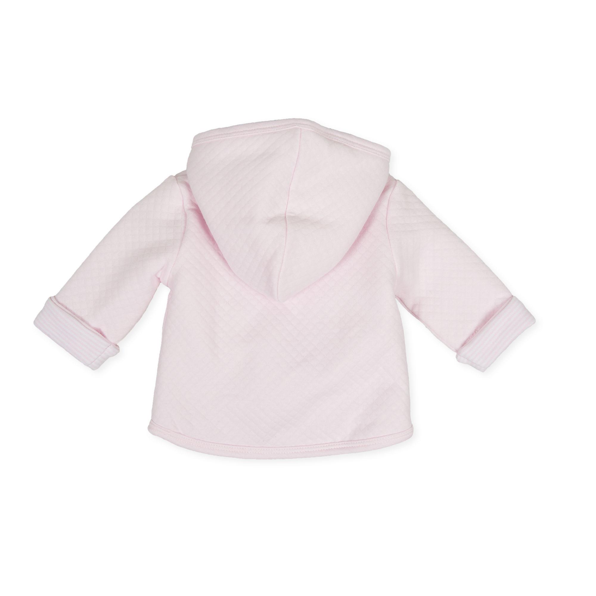 Tutto Piccolo Tutto Piccolo 9687 Pink  Coat With Hood