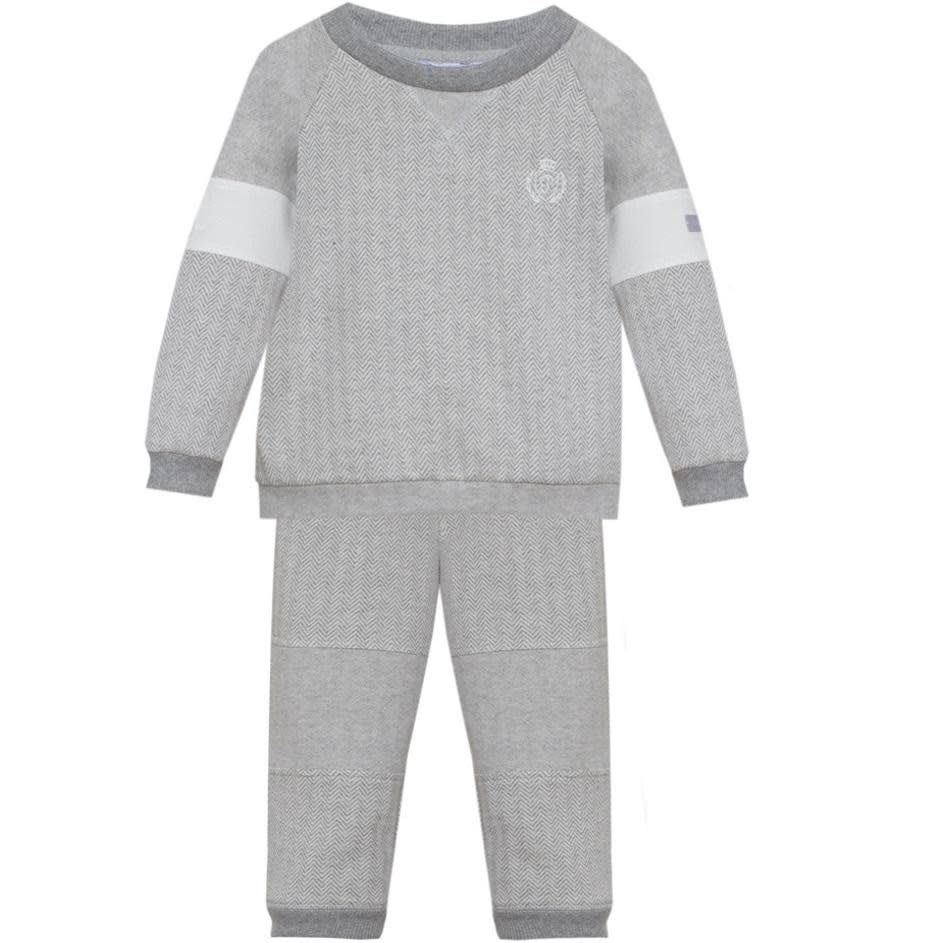 Patachou Patachou Boy Grey Jogger Set