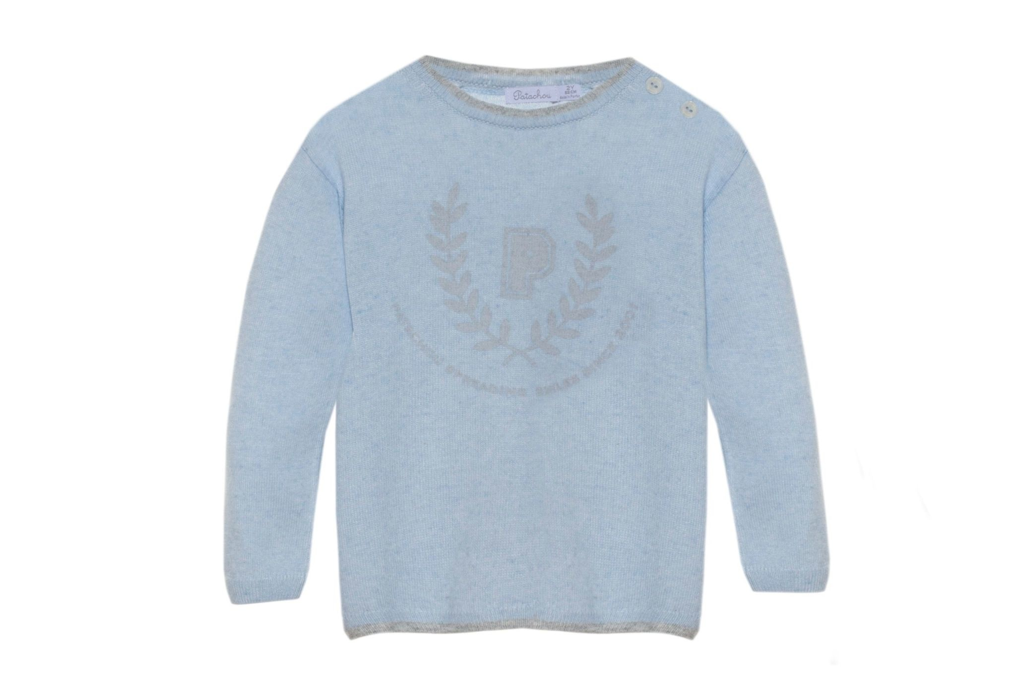 Patachou Patachou Knit Sweater with Crest