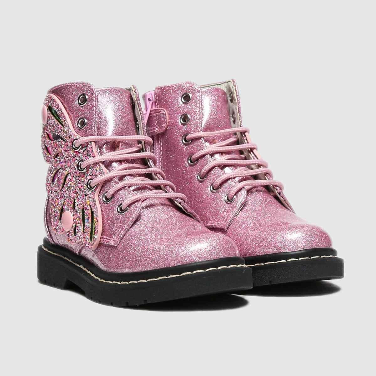 Lelli Kelly Lelli kelly Fairy Wing Boots LK5544 PINK