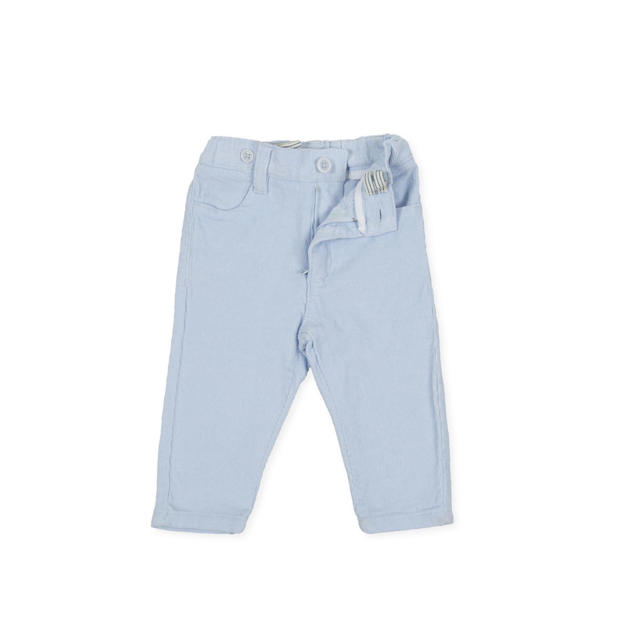 Tutto Piccolo Tutto Piccolo 9029 Pale Blue Cord Trousers