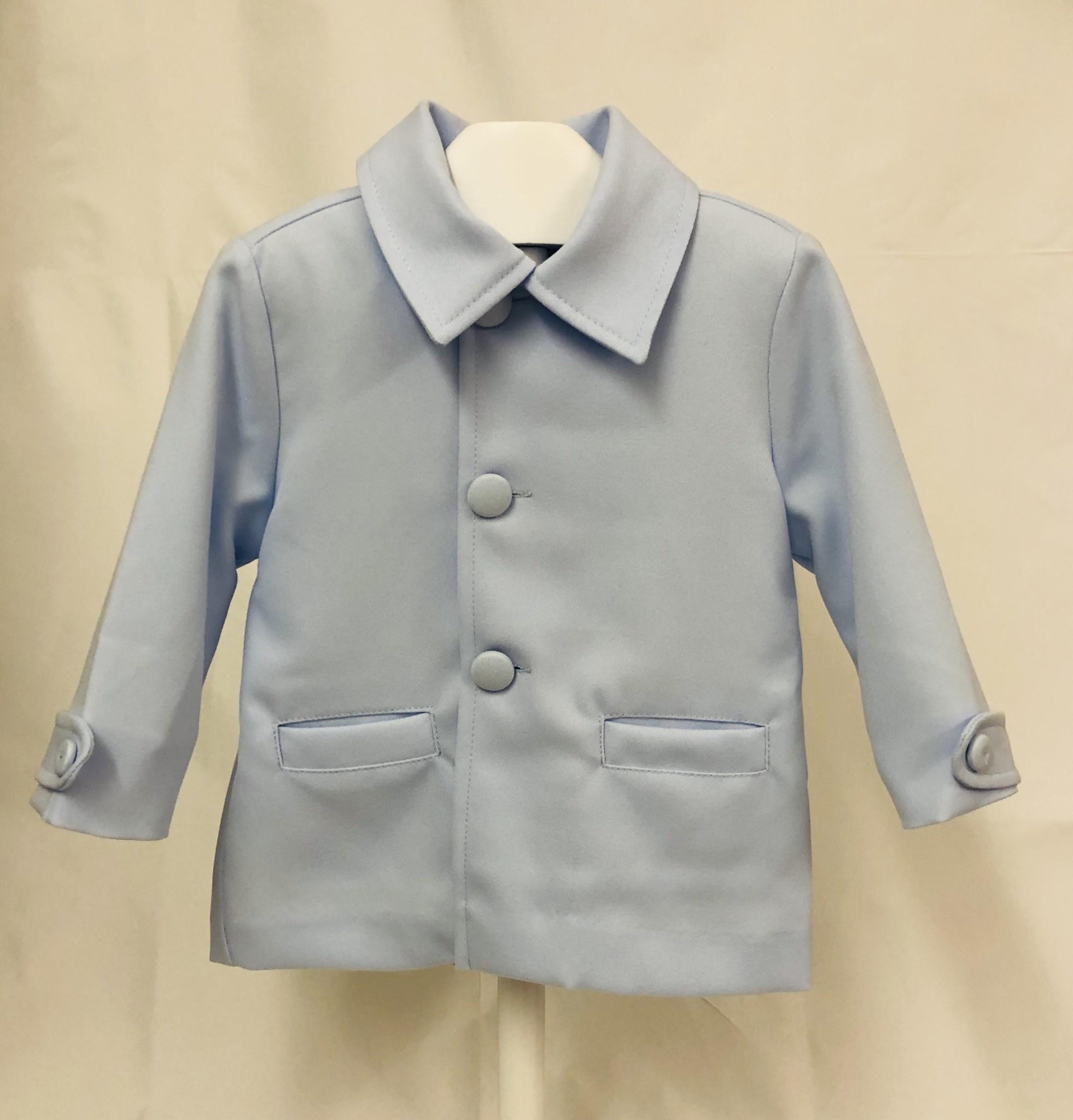 Pretty Originals Pretty Originals DL08075 Blue Coat and Hat Set