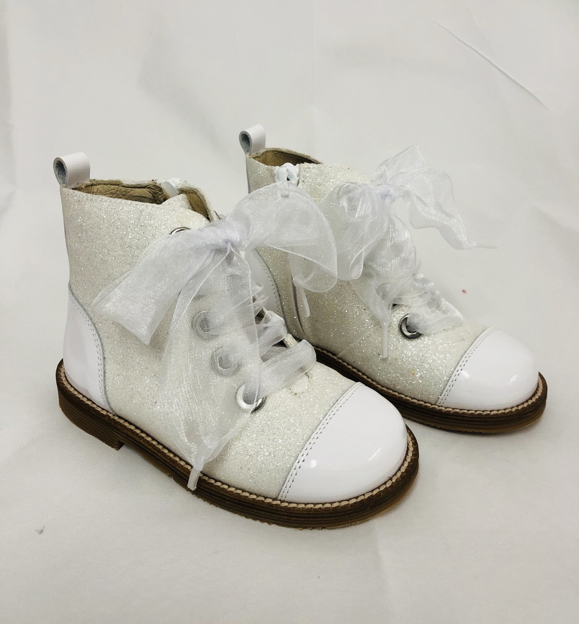 Andanines Andanines 192955 White Glitter Boot