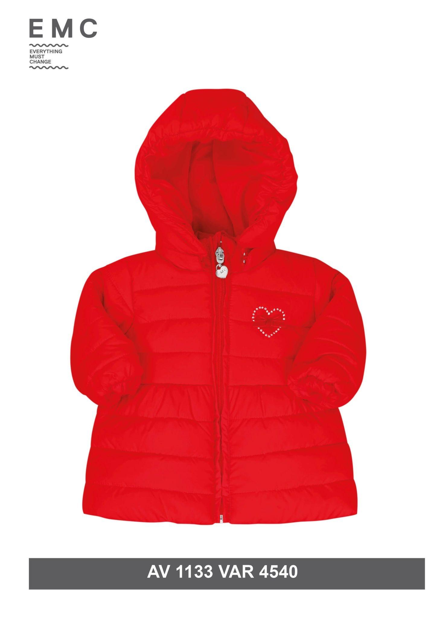 EMC EMC Red Padded Loveheart Coat