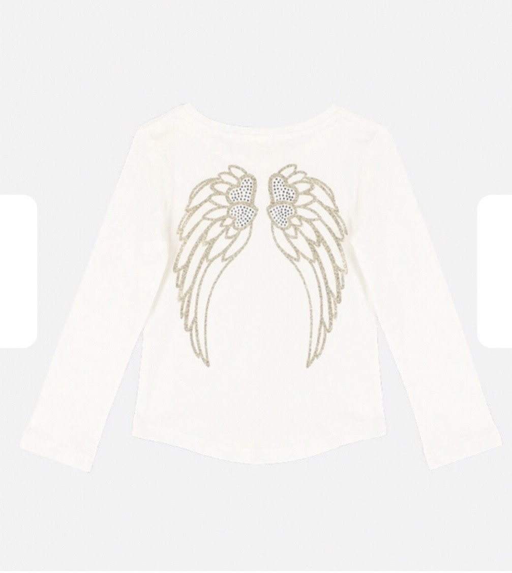 Angels Face Angel Face Christine Snowdrop Gold Wing Top