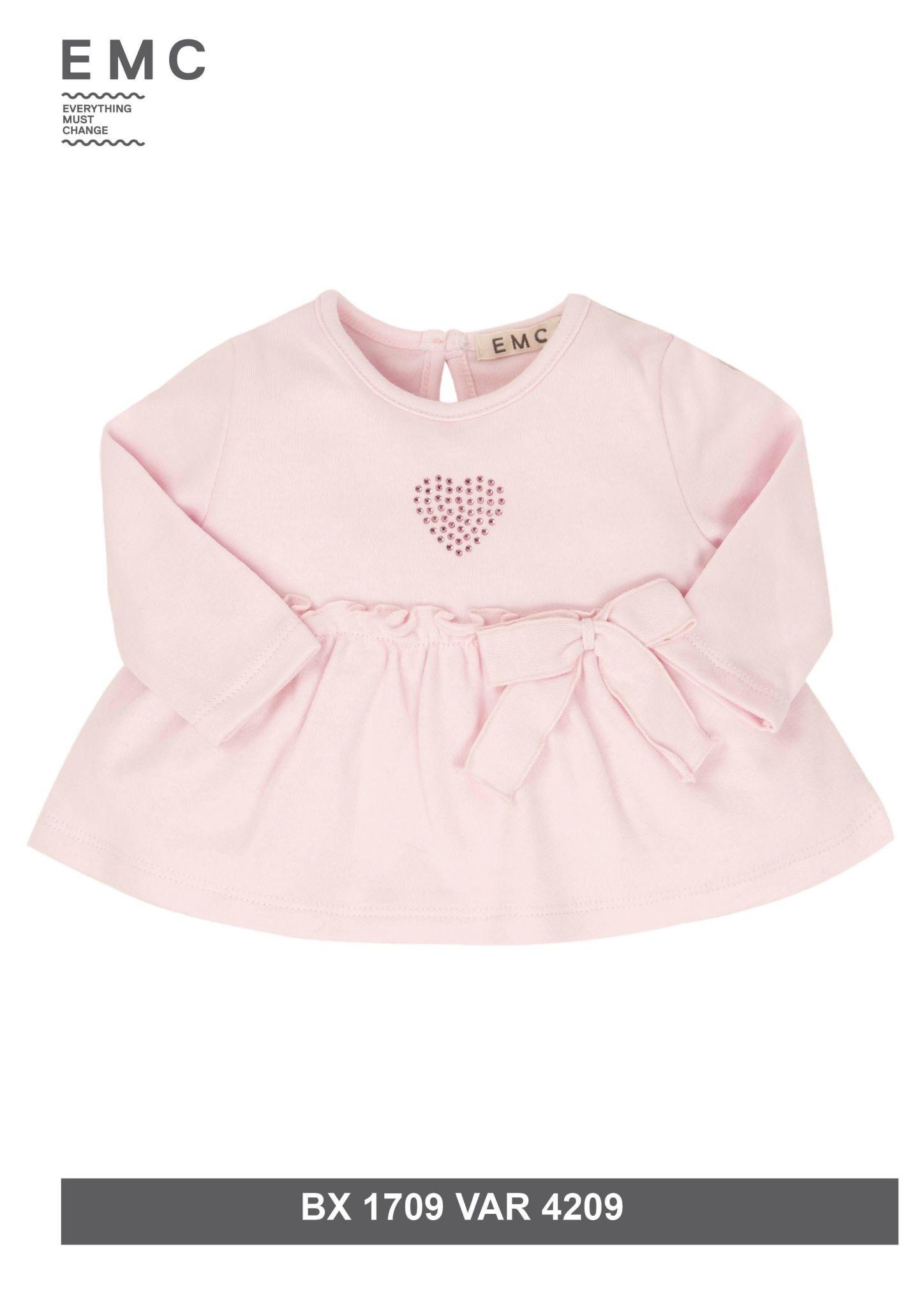 EMC EMC Pink Ruffle Dress