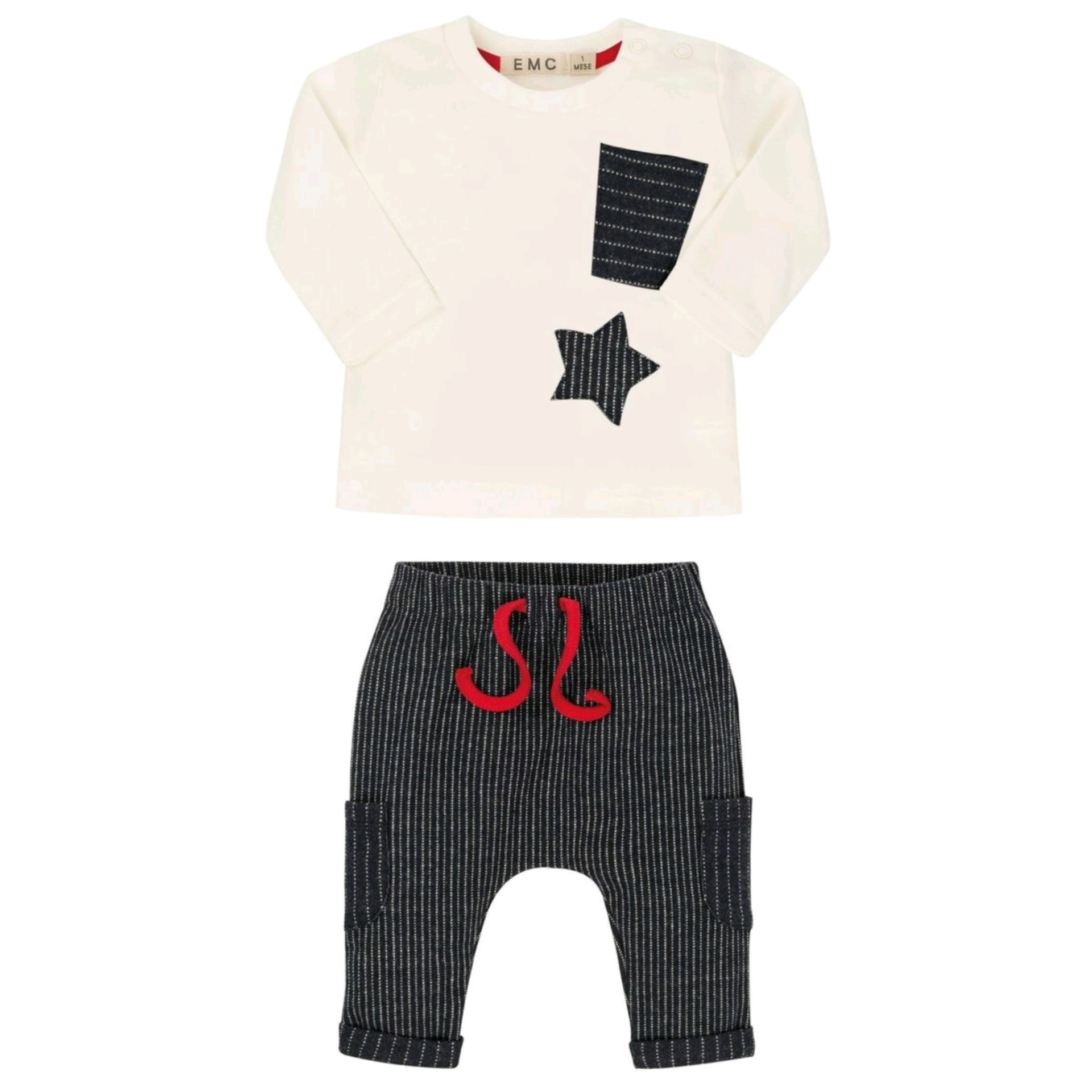 EMC EMC Boys Star Two Piece Set