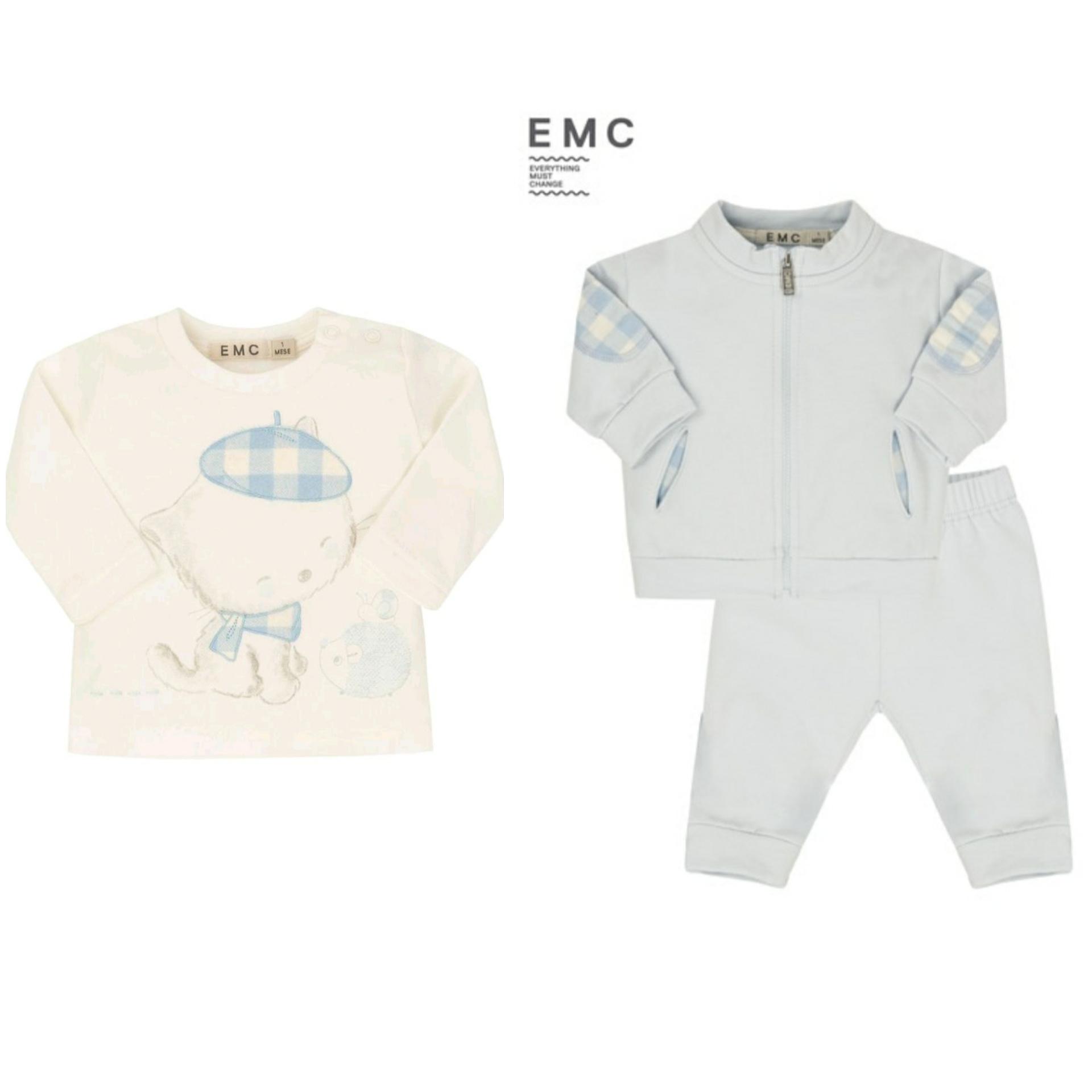 EMC EMC Boys Zip Tracksuit Set