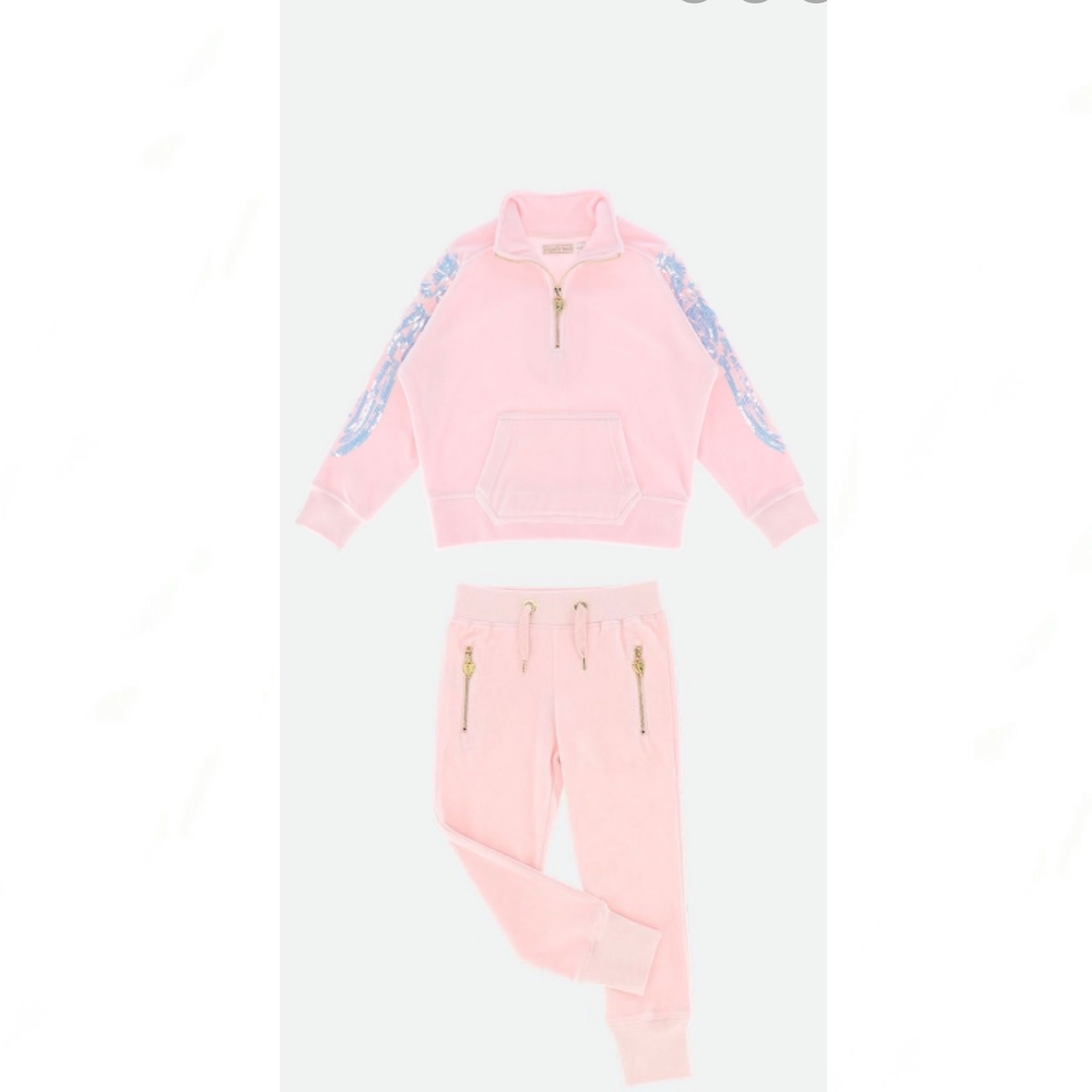 Angels Face Angel Face Willow Pink Tracksuit 2-3Y