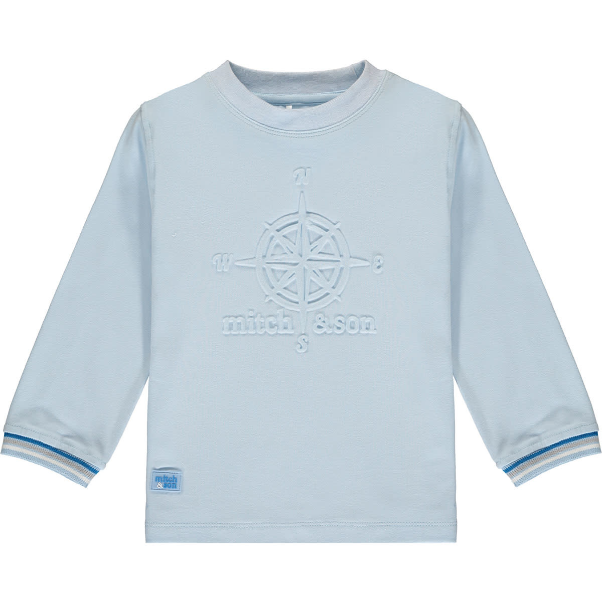 Mitch and Son Mitch & Son Ryder T-shirt - Pale Blue