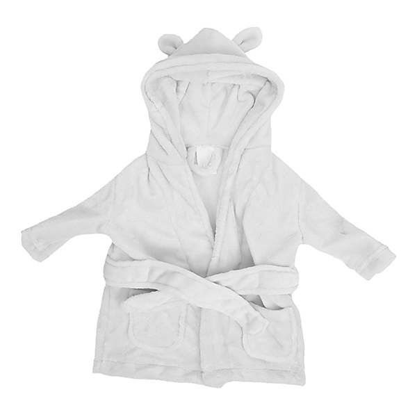 Bambino Bambino White My 1st Bathrobe 0-6M