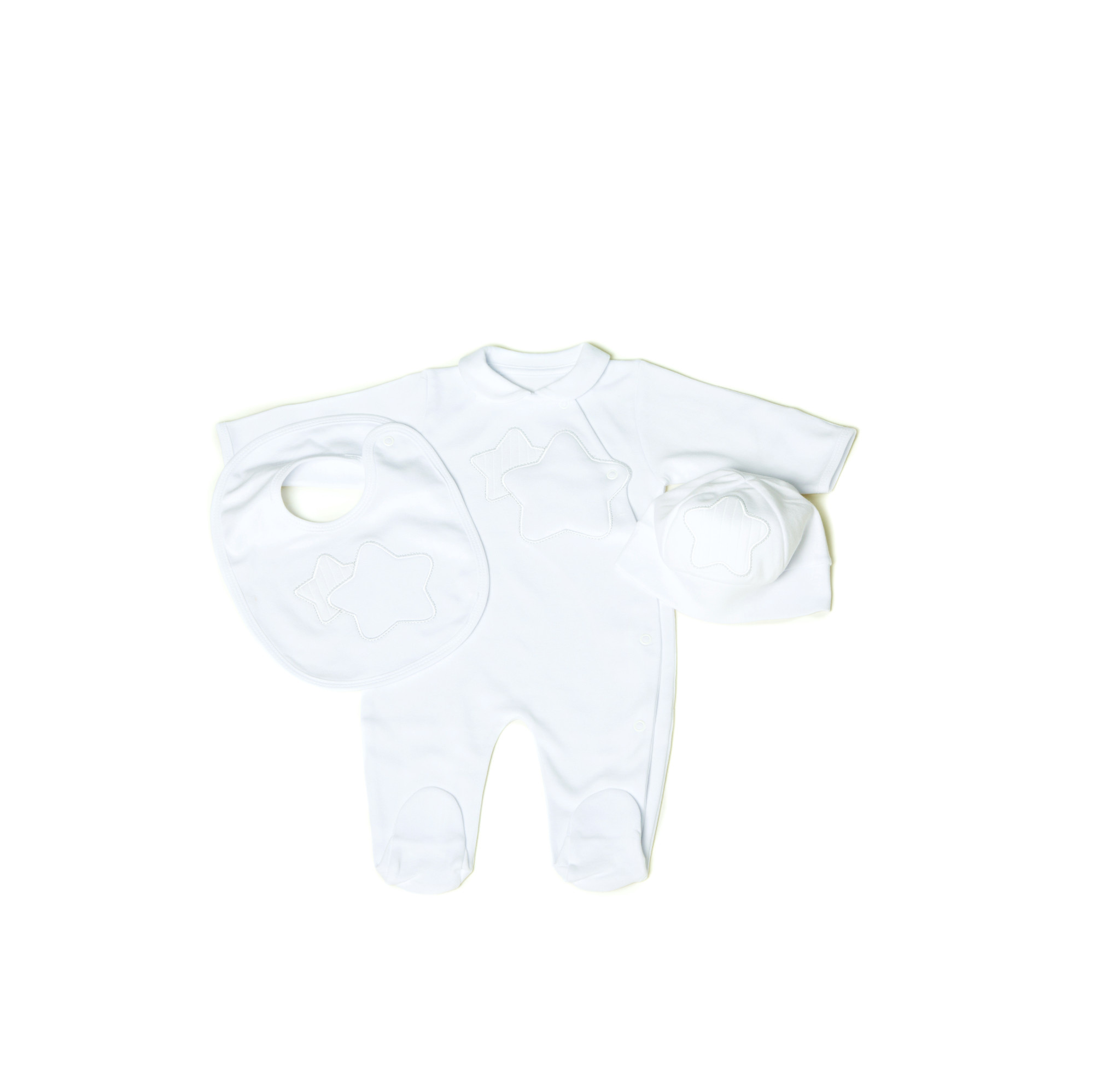 Little Lads & Ladies Double Star White LL01