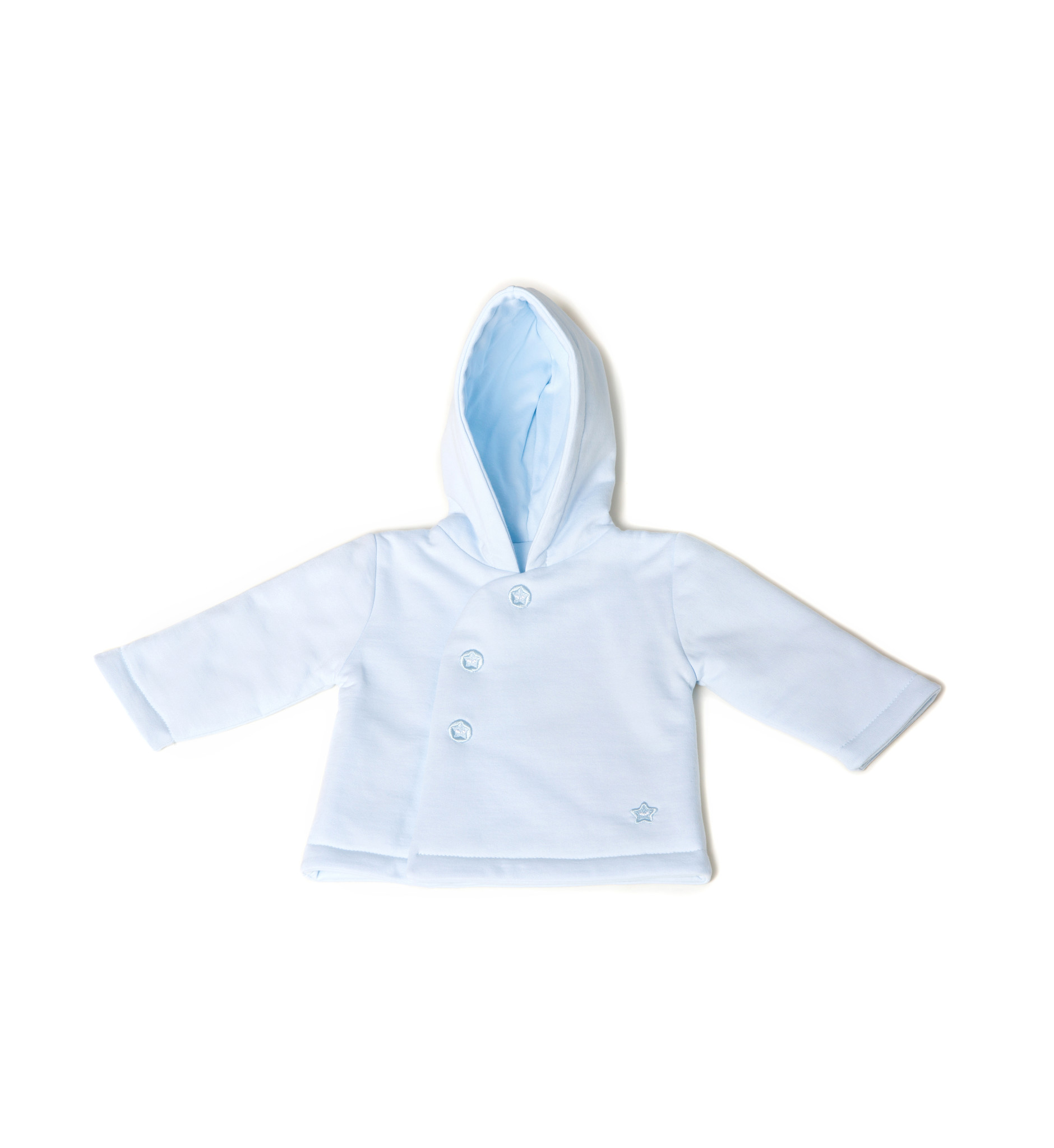 Little Lads & Ladies Blue Pram Jacket LL06