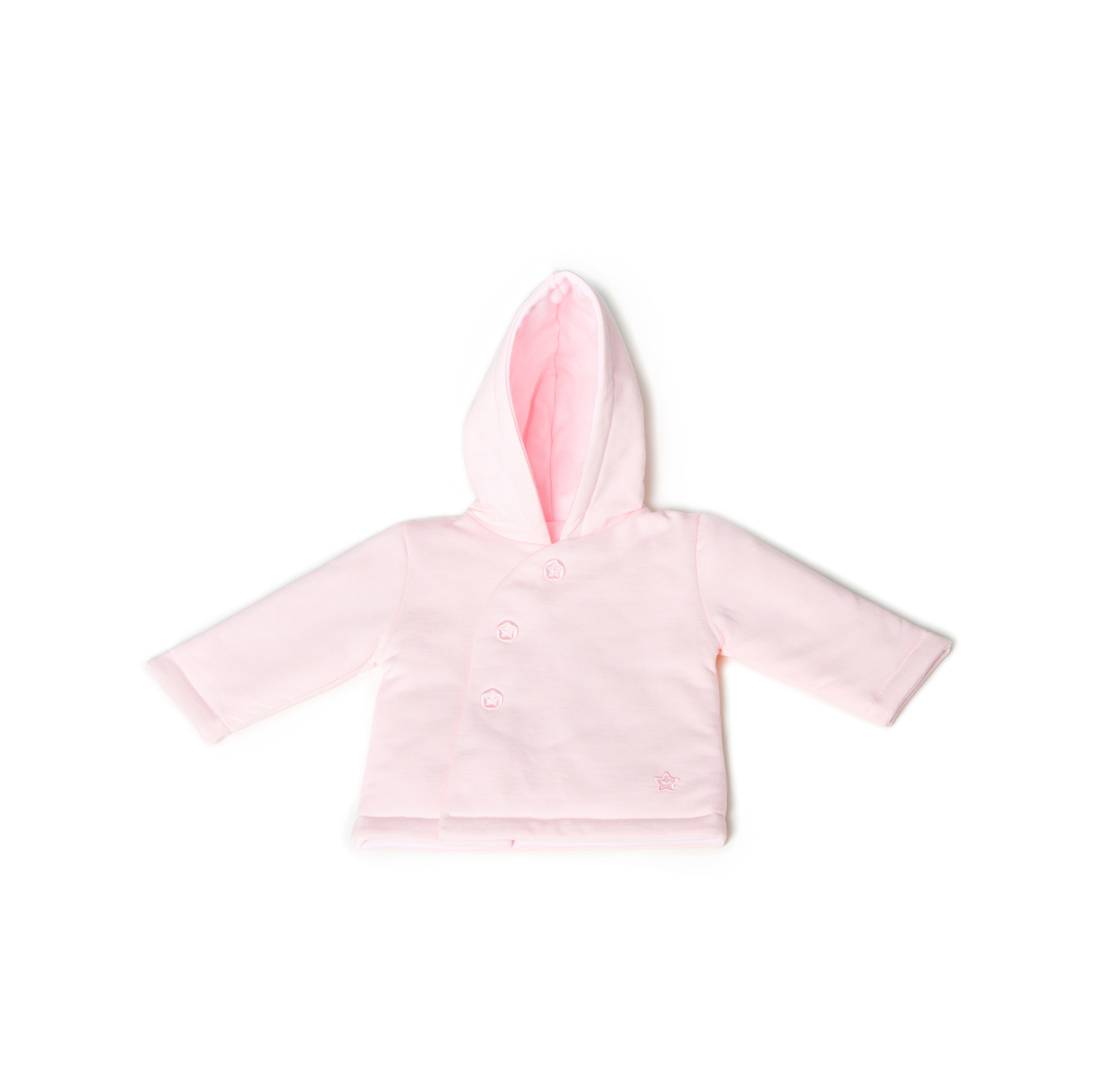 Little Lads & Ladies Pink Pram Jacket LL06