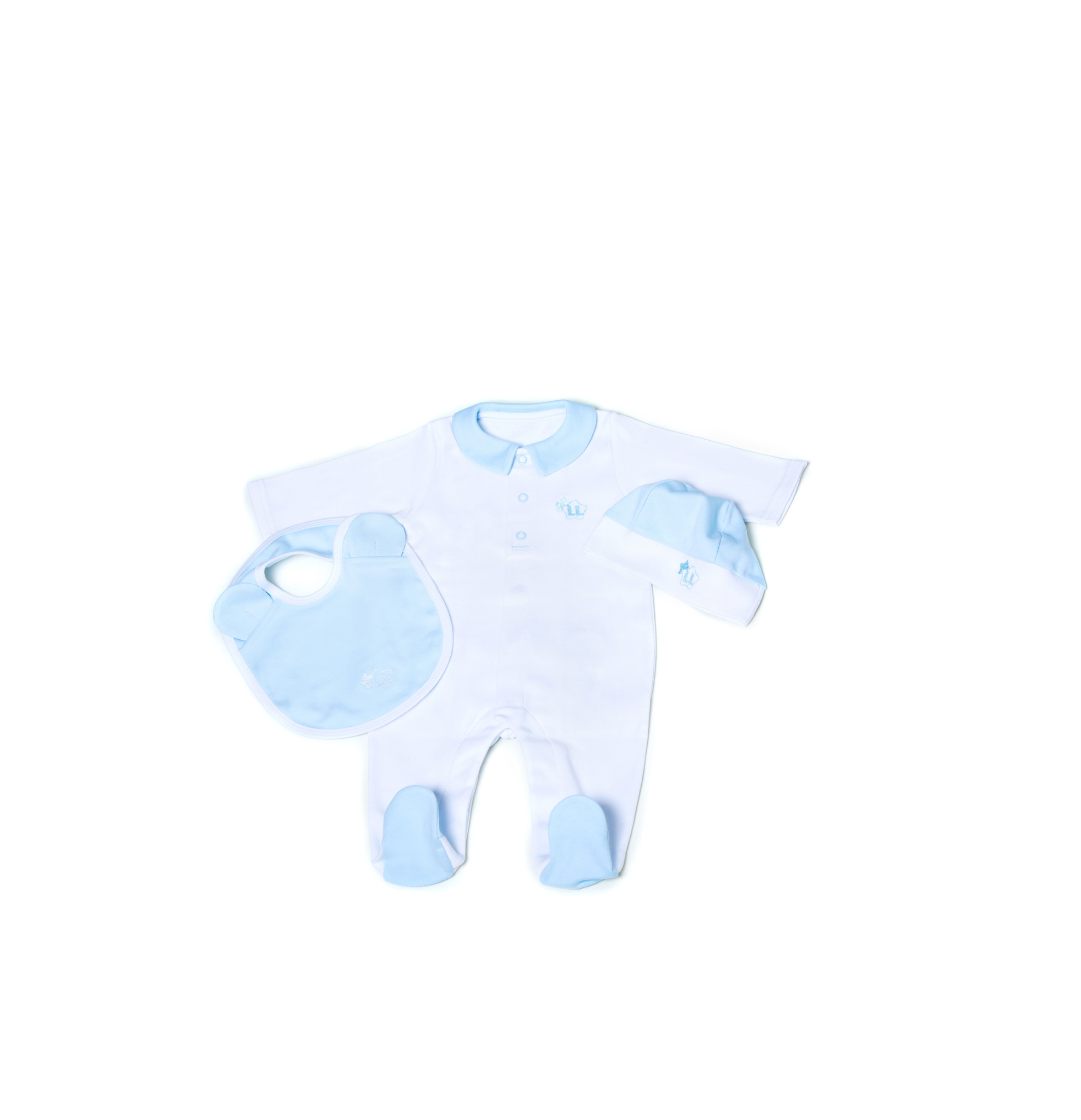 Little Lads & Ladies Blue Bear Bottom LL03
